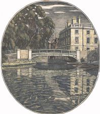 Queen's College Essex Building (giclée only)